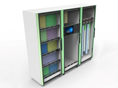 超高频RFID医疗耗材柜